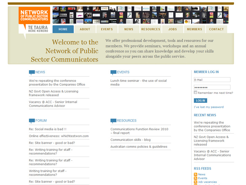 Network of Public Sector Communicators